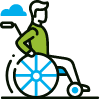 Disability support icon