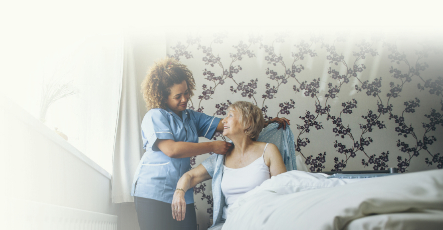 Home care services mobile banner